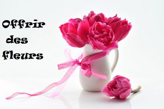Offrir un joli bouquet de fleur diy fleur en papier le for Offrir des fleurs