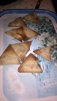 Samoussas cuits