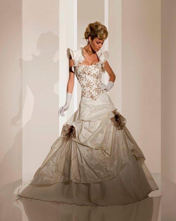robe numéro 3 (sans le gilet au dessus) : essayage fait