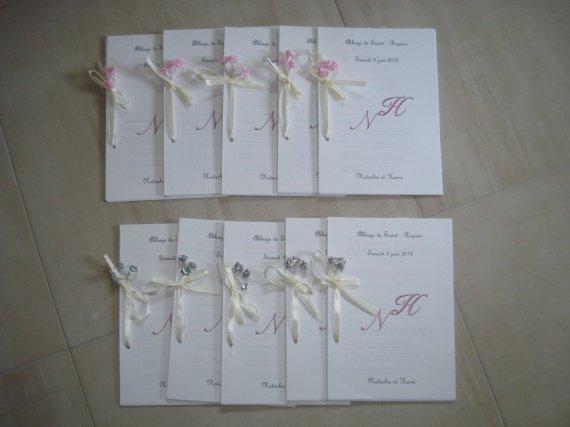 livrets de messe finis quantite 110 mon mariage 9 juin 2012 photos divers hugoetmargaux. Black Bedroom Furniture Sets. Home Design Ideas