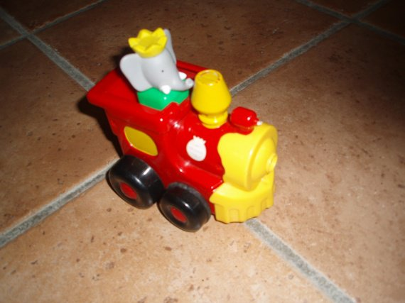 babar qui roule / 2€