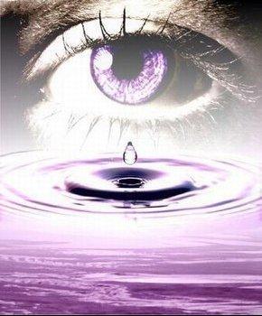 larme dans l eau