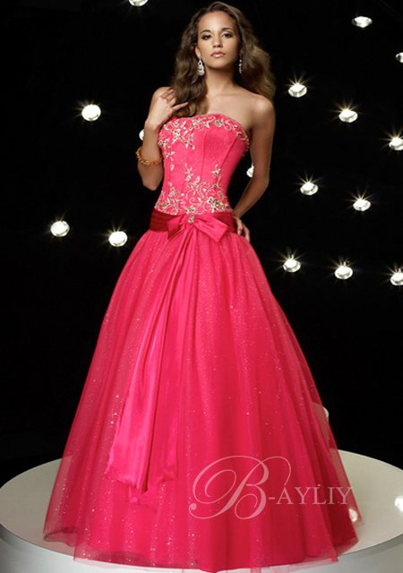 collection-robe-de-bal-wyn-p117 rose