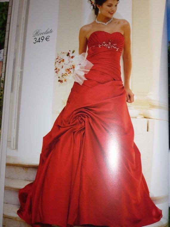 mariée rouge tati - mes photos - noun88 - Photos - Club Doctissimo