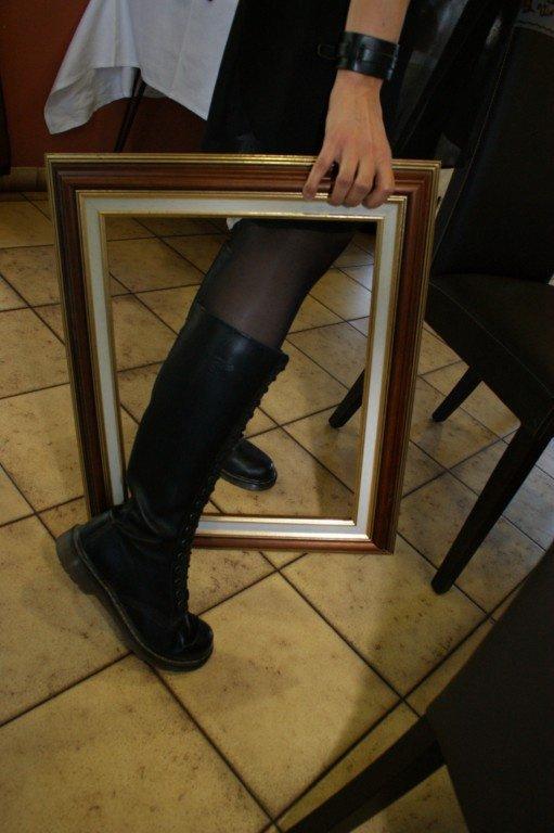 Ceci est une jambe...de Bélinda !