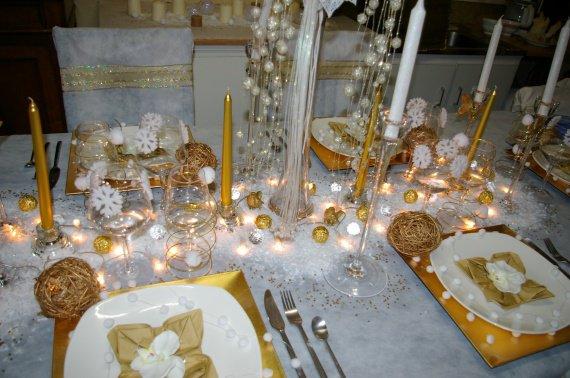 Table du r veillon de no l 2009 table r veillon de no l 2009 photos club - Reveillon de noel original ...