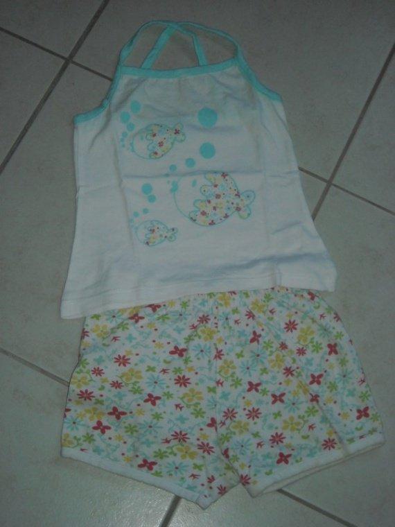 pyjama short 2€