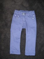 pantalon jean violet sergent major TBE 2 ans