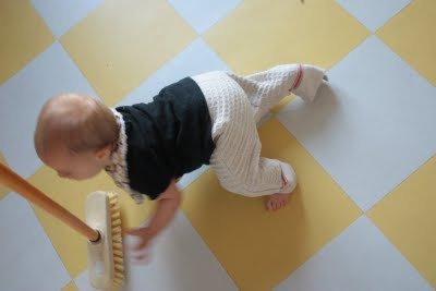 bébé serpillaire