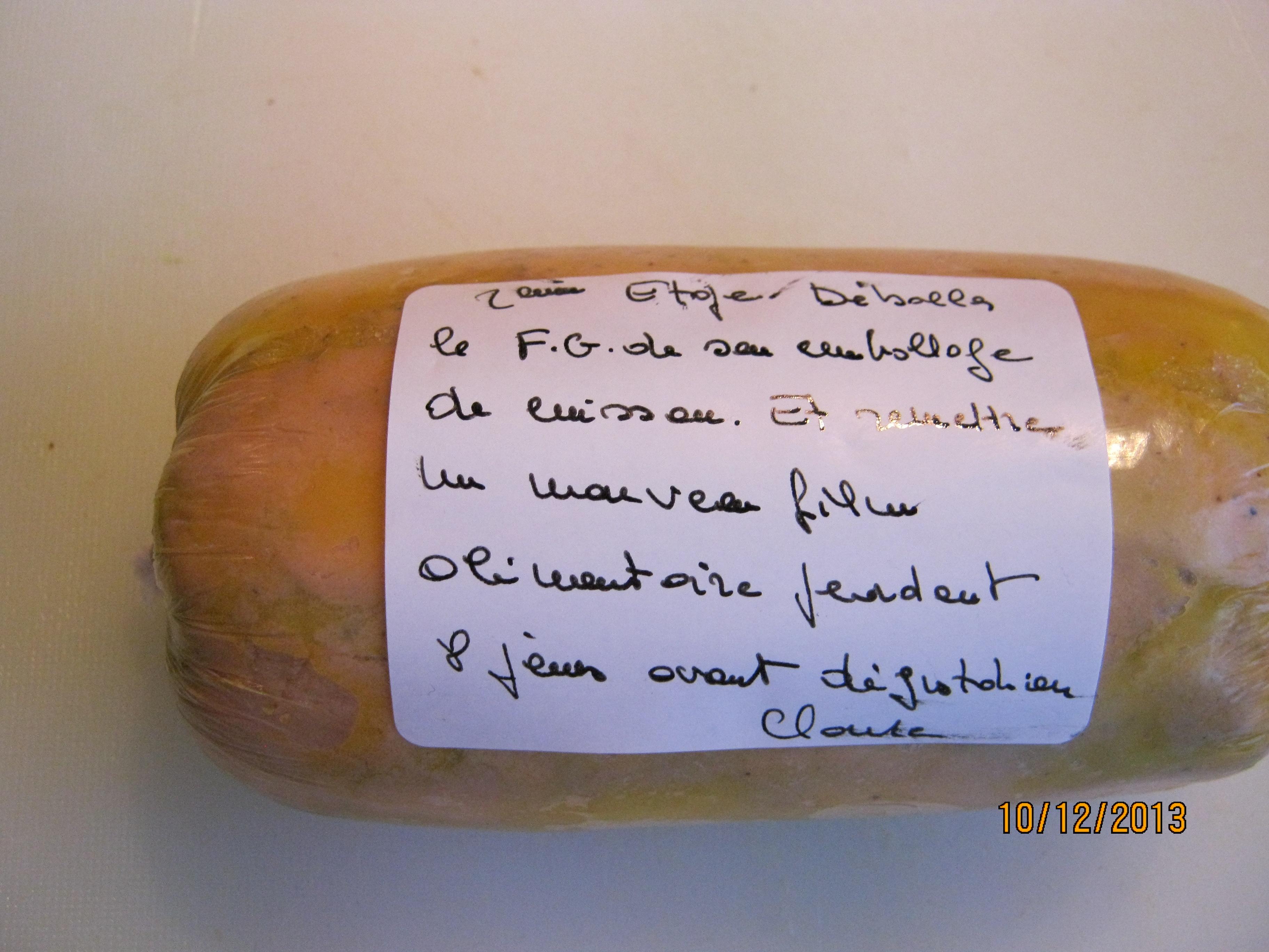 apr s cuisson et changement de film alimentaire foie gras sucette67 photos club doctissimo. Black Bedroom Furniture Sets. Home Design Ideas