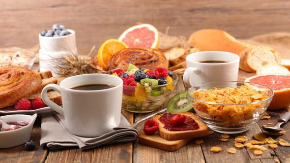 Non petit déjeuner à vous