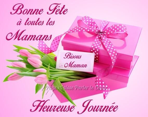 Bonne fête à vous mes amies qui êtes maman , je vous embrasse bien fort ❤️