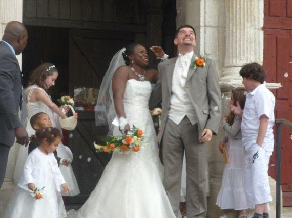 il pleut !!! mariage pluvieux ...