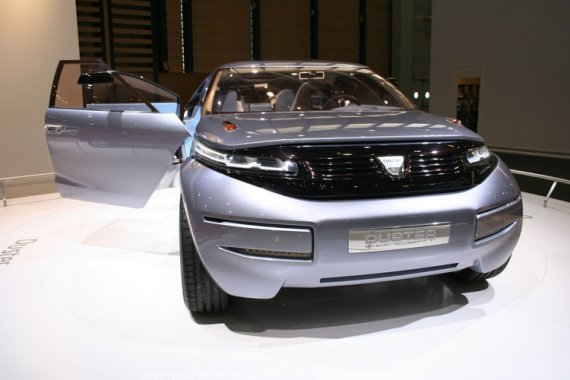 dacia duster concept crossover 2009 1 retour vers le. Black Bedroom Furniture Sets. Home Design Ideas