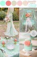 decoration-table-mariage-menthe-corail