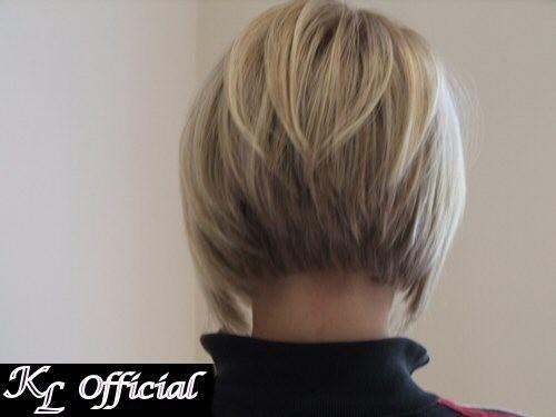 coiffure carre plongeant vu de dos