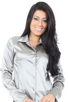 blusas de cetim 1