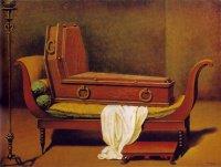 Magritte-Madame de Récamier de David