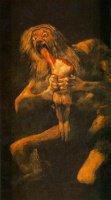 Goya- Saturne devorant un de ses enfants