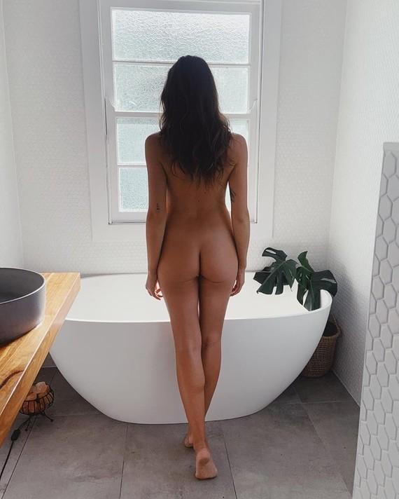 Le bain.