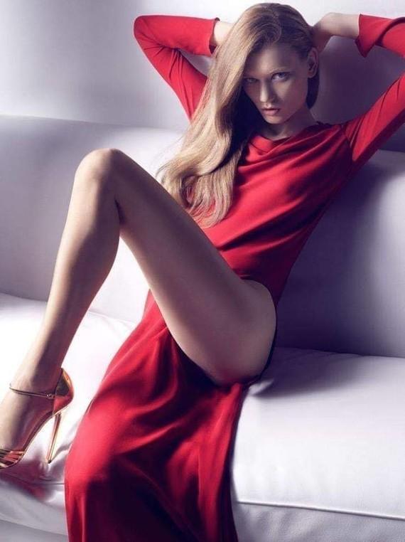 La princesse en rouge.