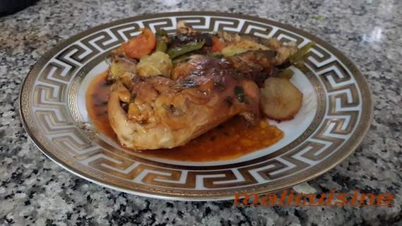 poulet paprikatitre