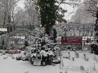 Highgate sous la neige