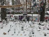 Highgate sous la neige-