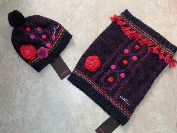 catimini spirit ethnique bonnet charpe cache cou. Black Bedroom Furniture Sets. Home Design Ideas