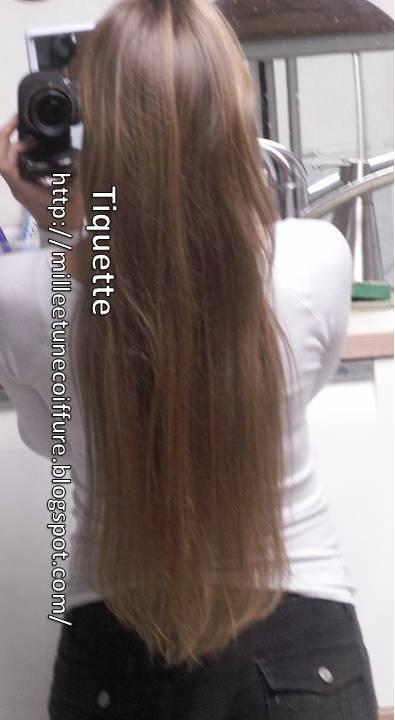Cheveux tres long comment les coiffer