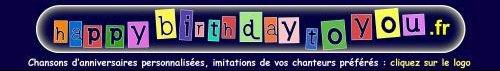 Bandeau Happybirthdaytoyou.fr