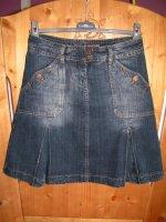 Jupe en bleu jean