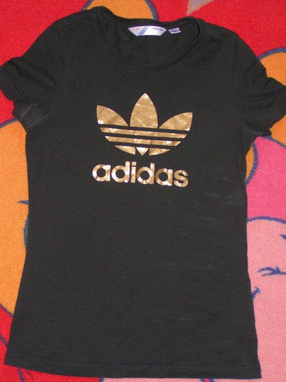 Tee shirt adidas noir et or taille 36 - Vide dressing femme taille ... 1c402eaca21f
