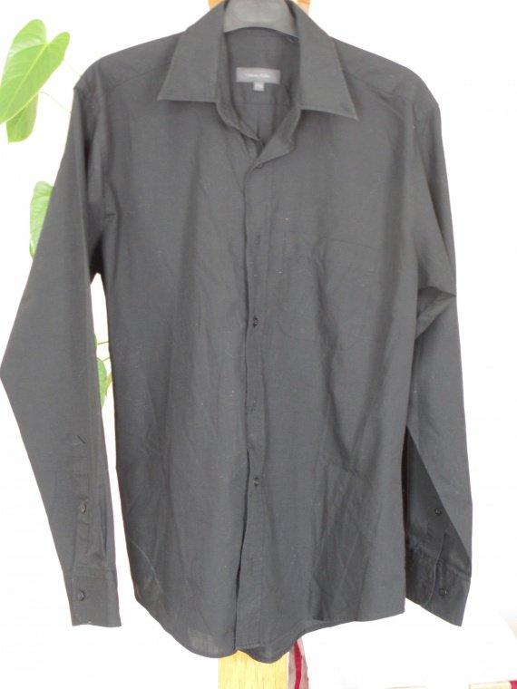 Chemise noir homme 37/38 neuve