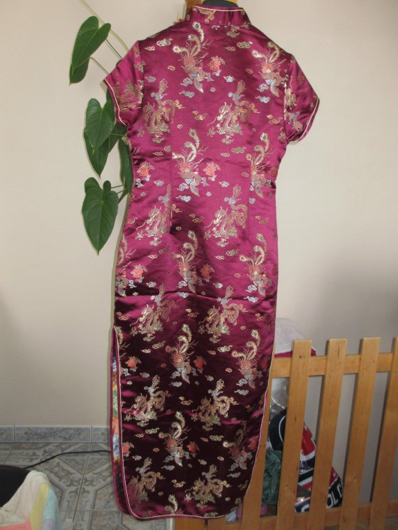 Robe chinoise taille L