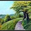 Chemin en Auvergne