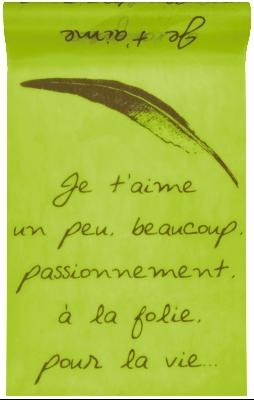 chemin-de-table-vert-anis-inscription-je-t-aime-e4220