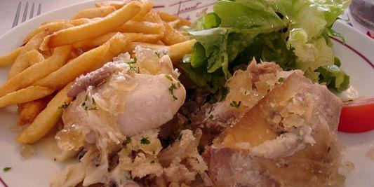 potje vleesh -frites-salades