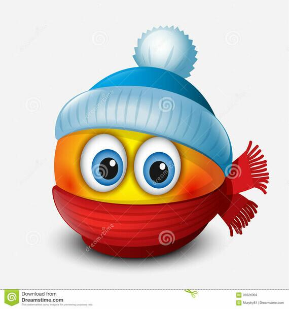 émotic-ne-mignonne-d-hiver-chapeau-de-port-et-écharpe-emoji-smiley-dirigez-l-illustration-96526994