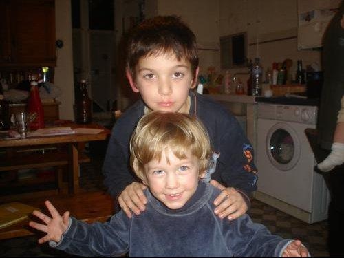 Thomas et guigui début 2009
