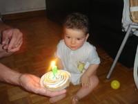 Bougie d'anniversaire
