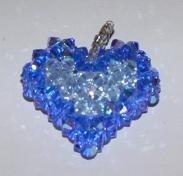 Coeur en pendentif