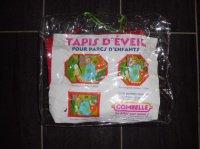 """Tapis d'éveil """"Combelle"""" (0.985m X 0.917m) 10 euros (dans son emballage d'origine)"""