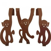 porte-manteau-design-decoration-singe-marron