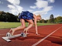 100 mètres le plus rapide en talons