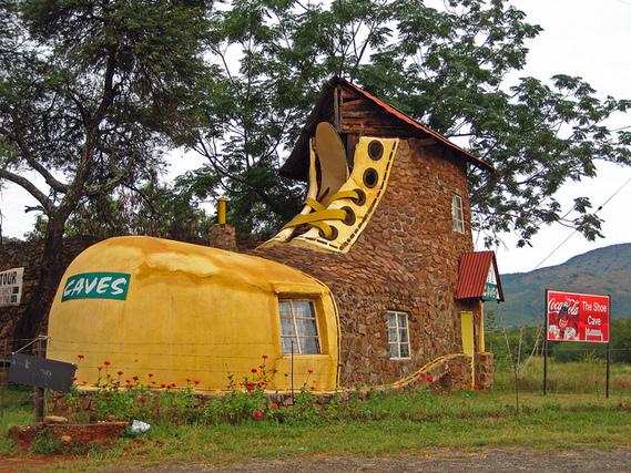 maisons insolites maison chaussure afrique du sud habitations un coin de paradis doctissimo. Black Bedroom Furniture Sets. Home Design Ideas