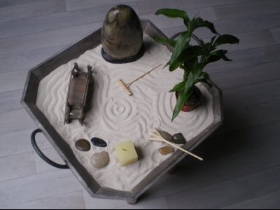 Comment creer son propre jardin zen miniature yoga for Comment faire un jardin japonais miniature