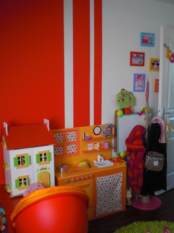 chambre lou-ann theme multicolore, pop et buccolique - Chambre de ...