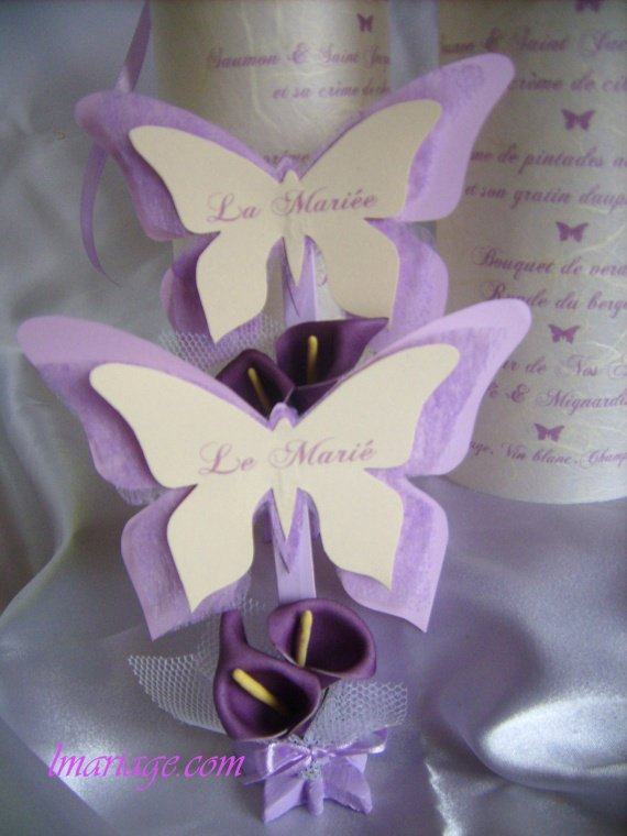 Marque place papillon mes creations sur Marque de deco