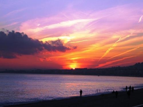 coucher de soleil france